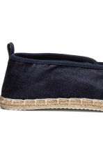 Espadrilles - Dark blue - Men | H&M 4