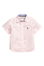 Cotton shirt - Light pink -  | H&M 2