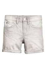 Denim shorts - Grey washed out - Kids | H&M 2