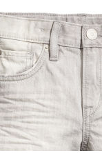Denim shorts - Grey washed out - Kids | H&M CN 4