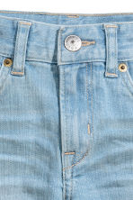 Denim shorts - Light denim blue - Kids | H&M CN 4