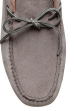 Suede moccasins - Grey - Men | H&M CA 3