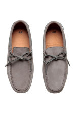 Suede moccasins - Grey - Men | H&M CA 2