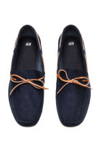 Moccasins - Dark blue - Men | H&M 2