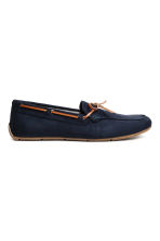 Moccasins - Dark blue - Men | H&M 1
