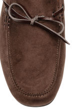 Moccasins - Dark brown - Men | H&M 3