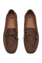 Moccasins - Dark brown - Men | H&M 2