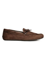 Moccasins - Dark brown - Men | H&M 1