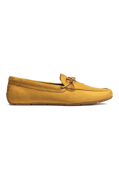 Moccasins - Mustard yellow - Men | H&M CN 1