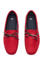 Moccasins - Red - Men | H&M 2