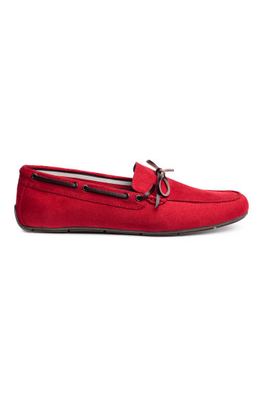 Moccasins - Red - Men | H&M 1