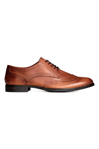 Brogues - Cognac brown - Men | H&M 1