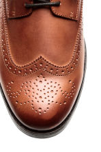 Brogues - Cognac brown - Men | H&M CN 3