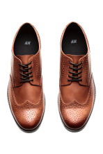 Brogues - Cognac brown - Men | H&M 2