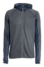 Ultra-light running jacket - Dark grey-blue - Men | H&M 2