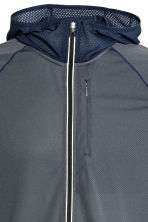 Ultra-light running jacket - Dark grey-blue - Men | H&M 4