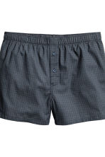 3-pack boxer shorts - Light grey/Checked - Men | H&M 3