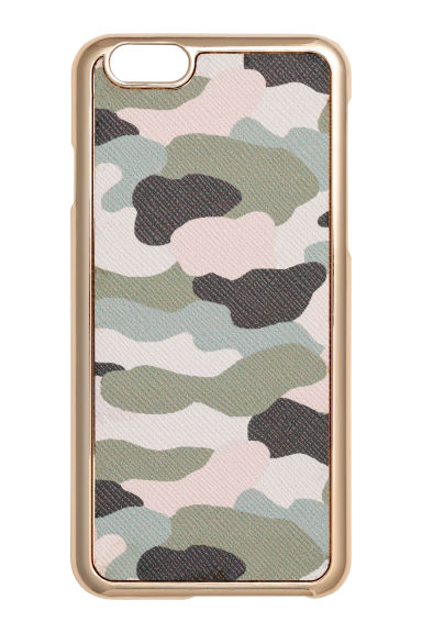 iPhone 6/6s case - Khaki green/Patterned -  | H&M