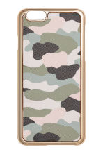 iPhone 6/6s case - Khaki green/Patterned -  | H&M 1