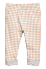 Cardigan and trousers - Light beige/Pattern - Kids | H&M 2