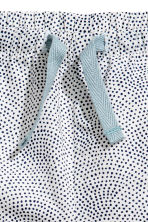 Cotton shorts - White/Spotted - Kids | H&M CN 2