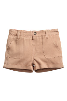 Shorts in misto lyocell