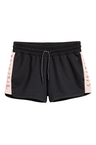 Short sports shorts - Black - Ladies | H&M CA 1
