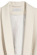 Fitted jacket - Light beige - Ladies | H&M CN 2