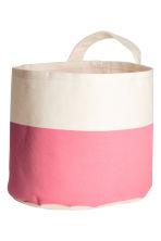 Small storage basket - White/Pink - Home All | H&M CN 2