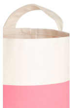 Small storage basket - White/Pink - Home All | H&M CN 3