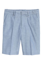 Suit shorts - Blue marl -  | H&M 2