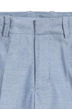 Suit shorts - Blue marl -  | H&M CN 4