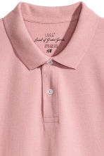 Polo shirt - Pale pink - Men | H&M 3