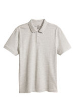 Polo shirt - Light grey-beige - Men | H&M 2