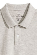 Polo shirt - Light grey-beige - Men | H&M 3