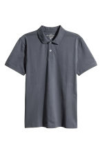 Polo shirt - Dark grey-blue - Men | H&M 2