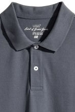 Polo shirt - Dark grey-blue - Men | H&M 3