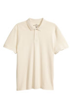 Polo shirt - Natural white - Men | H&M 2
