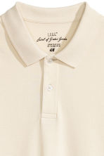 Polo shirt - Natural white - Men | H&M 3