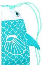 Patterned storage bag - Turquoise/Fish - Home All | H&M CN 3