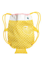 Patterned storage bag - Yellow/Fish - Home All | H&M CN 2