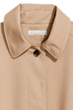 Trenchcoat - Light beige - Ladies | H&M 4