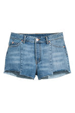 Denim shorts - Denim blue - Ladies | H&M CA 1