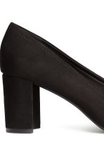 Block-heel court shoes - Black - Ladies | H&M 4