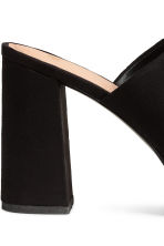 Platform mules - Black - Ladies | H&M 4