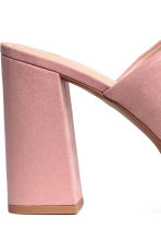 Platform mules - Light pink - Ladies | H&M 4