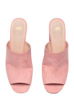 Platform mules - Light pink - Ladies | H&M CN 2