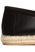 Espadrilles - Black - Ladies | H&M CN 4