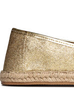 Espadrilles - Gold - Ladies | H&M 3