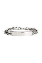 Metal bracelet - Silver - Men | H&M 1